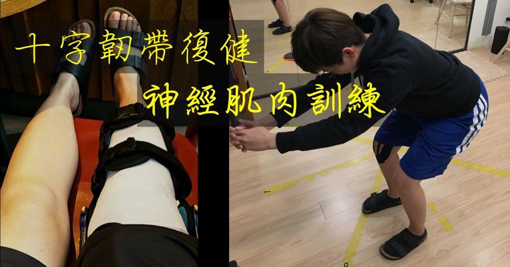 十字韌帶復健:神經肌肉訓練(受傷後or術前適用)